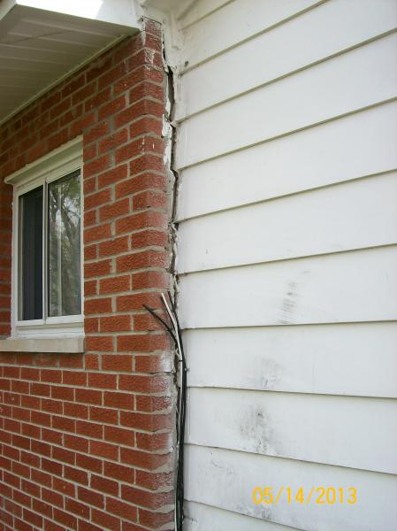 Brick Separating From Siding Is This Major Community Forums