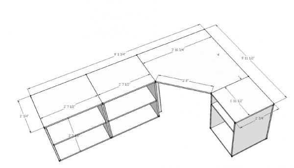PDF Free corner computer desk woodworking plans DIY Free