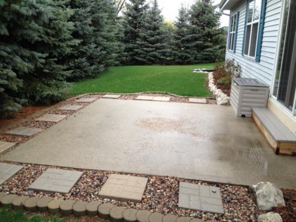 ideas for small backyard patio - DoItYourself.com ... on Diy Backyard Patio Cheap  id=24646