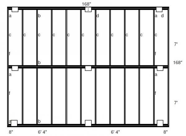 14 X 14 Freestanding Deck Plans Needed Doityourself Com