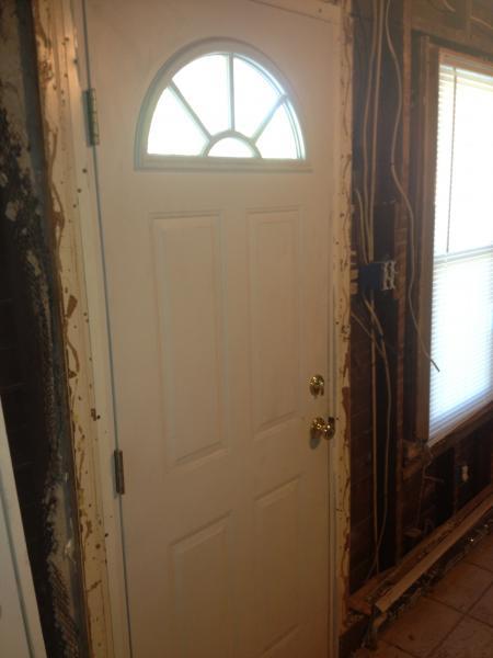 Installing A Larger Exterior Door Doityourself Com