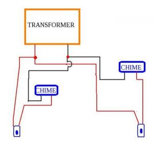Adding a 2nd doorbell chime and already have 1 transformer