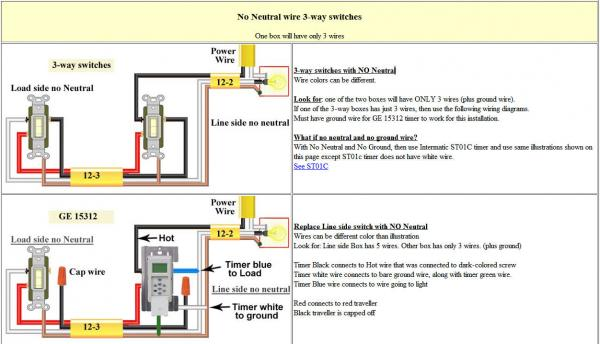 timer switch diagram wiring wiring diagram 3 way switch digital timer doityourself munity forums