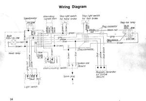 Moped wiring diagramwhat's this resistor for?  DoItYourself Community Forums