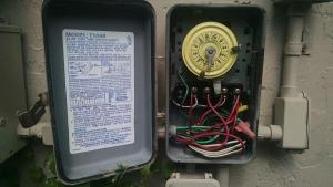 Intermatic T104R won't turn pump on, but does turn it off