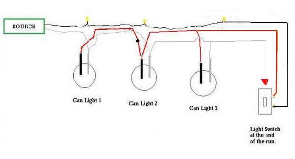 Wiring Multiple Recessed Lights Diagram | Wiring Diagram on