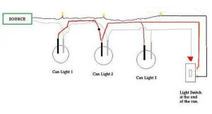 Wiring recessed lights  DoItYourself Community Forums