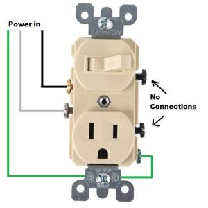 Wiring for a switchsocket bo  DoItYourself