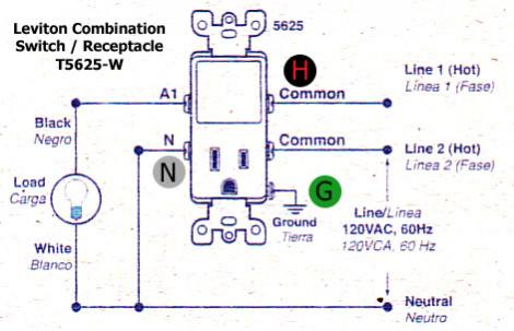 15 lovely leviton t5625 wiring diagram