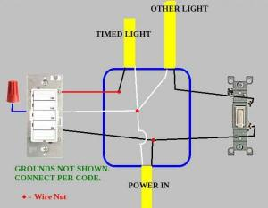 Motion sensor light switch wiring  DoItYourself