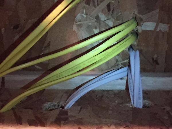 Romex Pulled Too Tight Through Joistsubfloor