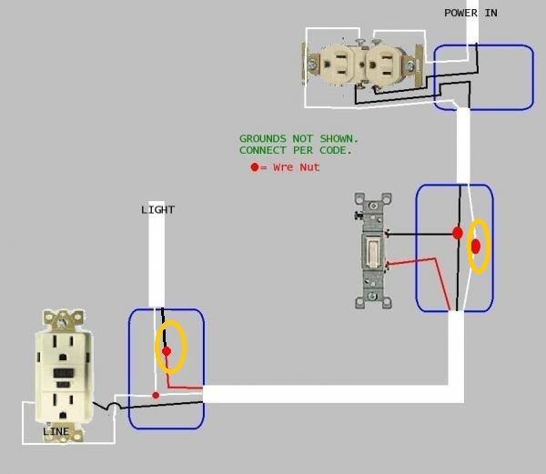 light switch wiring diagram for a flood  pietrodavicoit