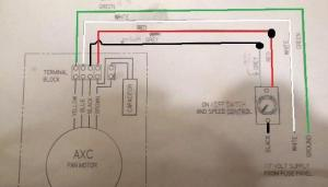 3 Wire Solid State Variable Fan Speed Control Wiring Help  DoItYourself Community Forums
