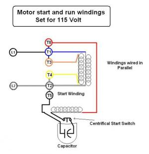 Emerson electric motor wiring help  DoItYourself