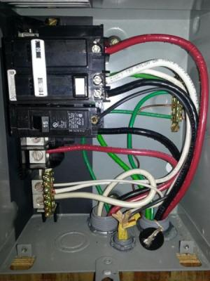 Hot tub WiringOnly Wire  DoItYourself Community Forums