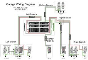 Garage Wiring Diagram  DoItYourself Community Forums