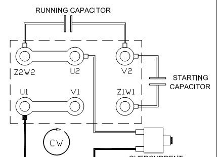 Single Phase Synchronous Motor Wiring Diagram in addition File Tapped autotransformer likewise R7755379 Reverse rotation single phase capacitor moreover 115 230 Motor Wiring Diagrams likewise Dc Reversing Switch Wiring Diagram. on 115 volt single phase motor wiring diagram