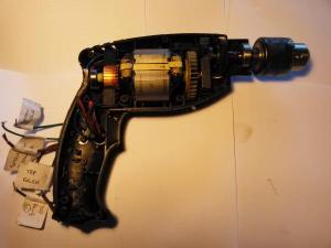 Wiring AC electric drill without switch  DoItYourself