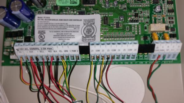 Security Alarm System 100 8 Zone
