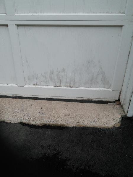 Water Damaged Garage Door Community Forums