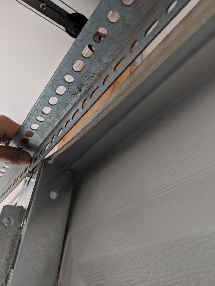 Clopay Door Panel Dovetails Cant Reinforce