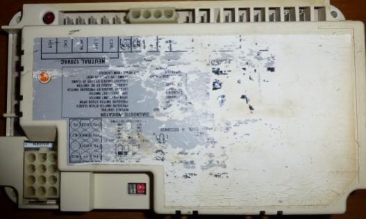 york diamond 80 gas furnace  new control board  old