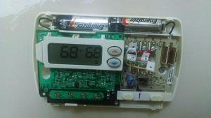 Installing a new wifi thermostat with no C terminal  Goodman furnace  DoItYourself