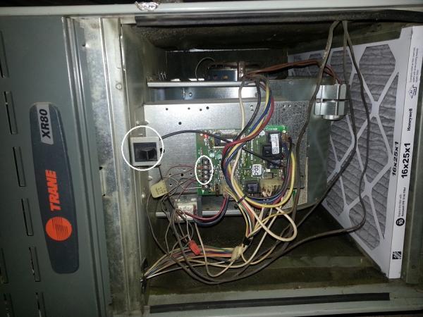 Trane xl90 furnace wiring diagram for Trane xe90 blower motor