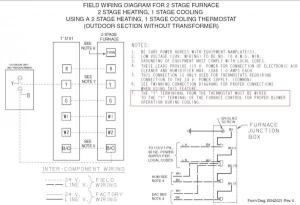 Trane XL80 furnace thermostat wiring questions