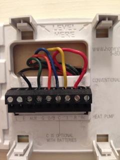 Aux Heat Settings w Thermostat  DoItYourself