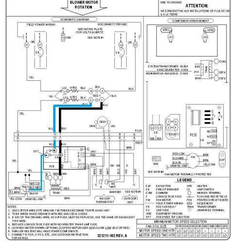 Goodman Air Handler Wiring Diagram Electric on wiring diagram for heil heat pump