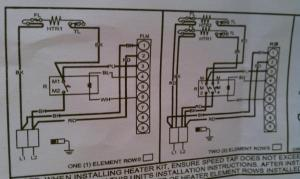 Wiring to heat strip for heat pump system  DoItYourself