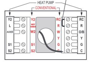 Lennox AHUHeat Pump, Honeywell Tstat wiring