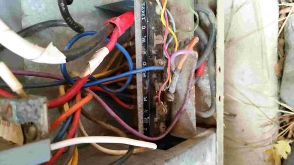 Help Wiring New Heat Pump Thermostat Hunter