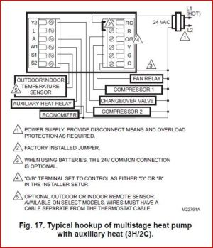 Trane Thermostat Wiring  DoItYourself Community Forums