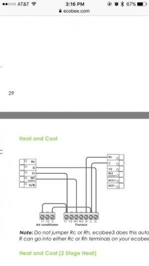 Connect bypass humidifier to Ecobee 3 thermostat