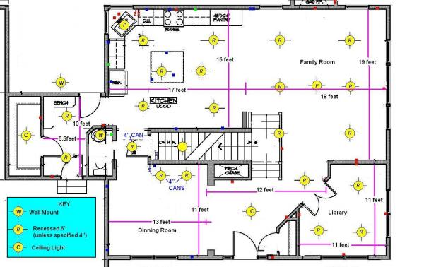 Recessed Led Kitchen Lighting Fixtures