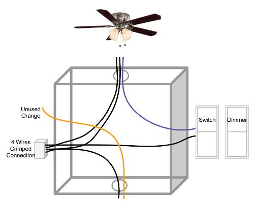Ceiling Fan Light Wiring Diagram One Switch Wiring Diagram – Ceiling Fan Light Switch Wiring Diagram