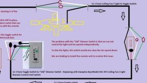 Universal remote ceiling fanlight installation diagram  DoItYourself Community Forums