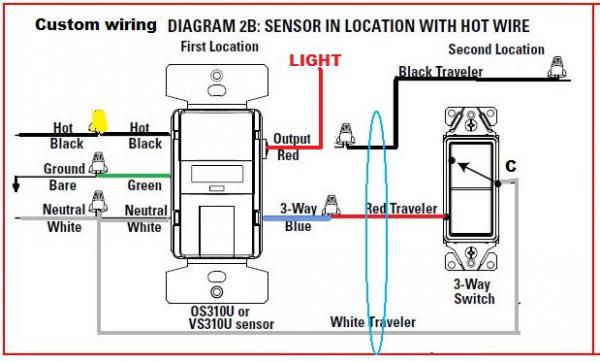 lutron occupancy sensor wiring diagram lutron occupancy sensor wiring diagram wiring diagram multipale locations occupancy sensors wiring diagrams