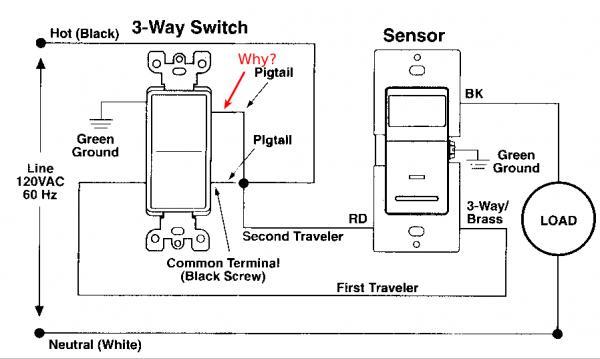 6 way wiring diagram leviton light switch  1999 gmc