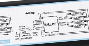 How to wire Metalux 6bulb high bay lamp  DoItYourself