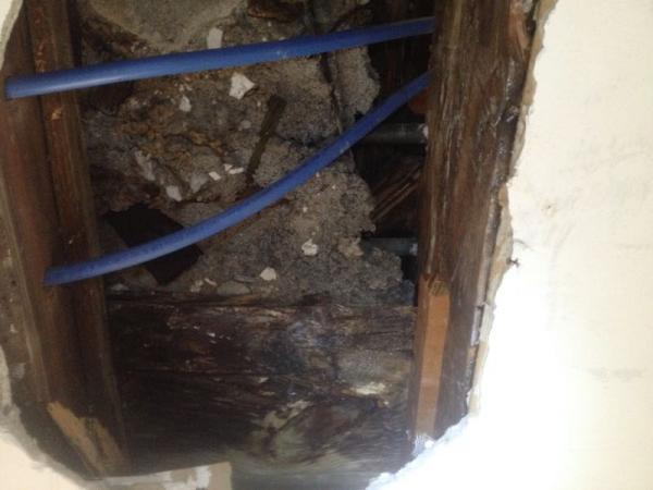 Concrete Subfloor Second Floor Bathroom Need To Remove