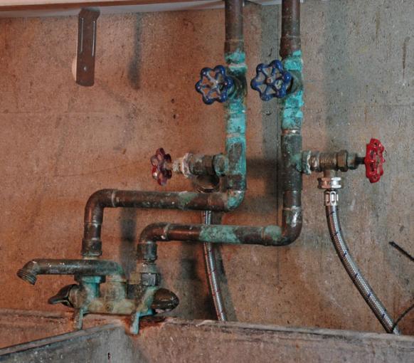 utility tub faucet repair or replace