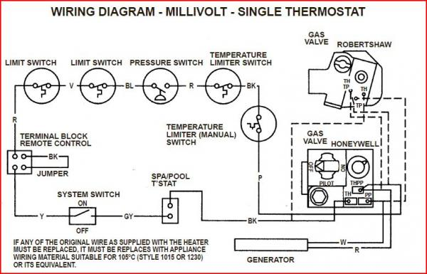 33102d1402535827 hayward pool heater h150 not firing 150?resize=600%2C385&ssl=1 gas valve wiring diagram robertshaw wiring diagram Robertshaw Gas Valve 710 502 at crackthecode.co