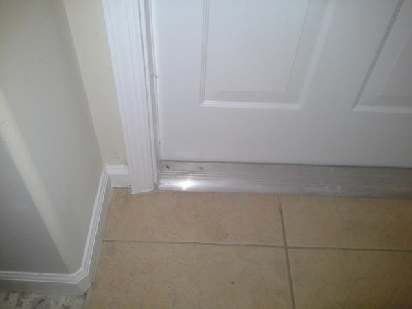 front door declining threshold