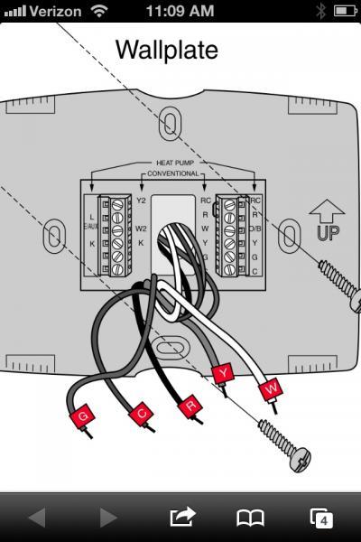 Upgrading Honeywell Thermostat
