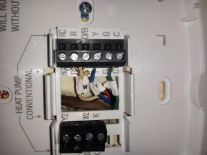 Honeywell RTH8500 wifi wiring help  DoItYourself