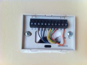 Installing a new thermostat  DoItYourself Community Forums