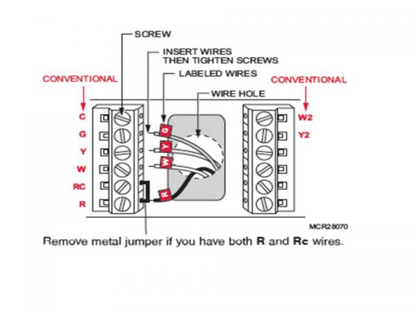 honeywell heat cool thermostat wiring diagram  vespa
